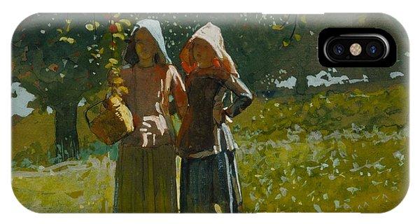 iPhone Case - Apple Picking by