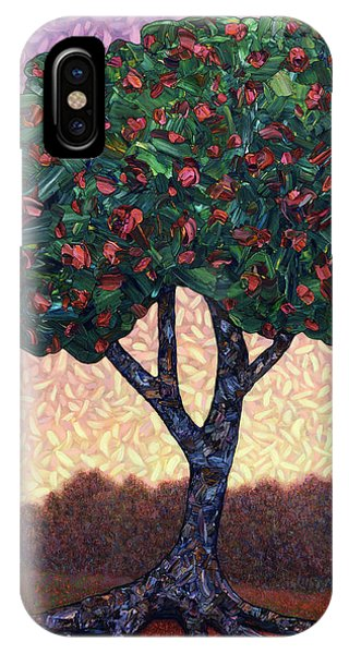 Abstract Landscape iPhone Case - Apple Tree by James W Johnson