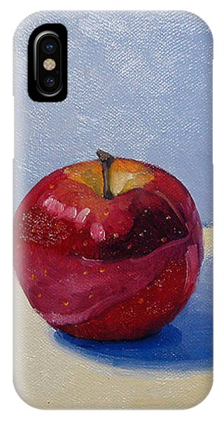 Apple - White And Blue. IPhone Case