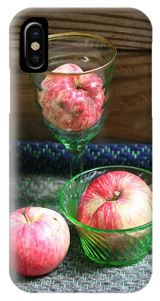Apples And Green Glass-i IPhone Case