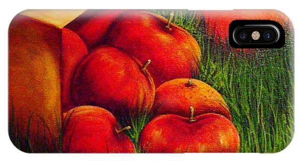 Apples At Sunset IPhone Case