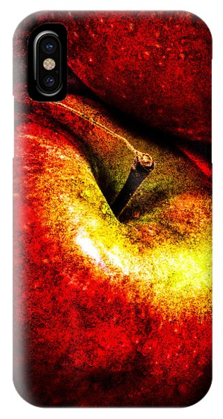 IPhone Case featuring the photograph Apples  by Bob Orsillo