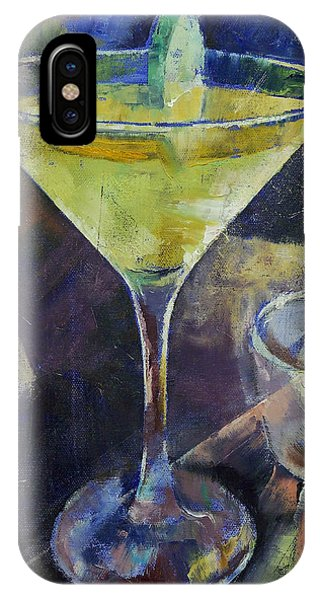 Martini iPhone Case - Appletini by Michael Creese