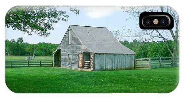 Appomattox Barn IPhone Case