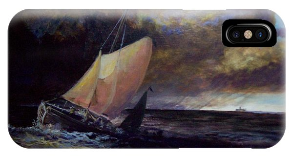 Approaching Gale  After Turner IPhone Case