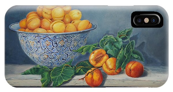 Apricots And Peaches IPhone Case