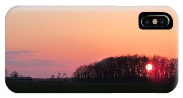 April 24 2013 Sunset IPhone Case