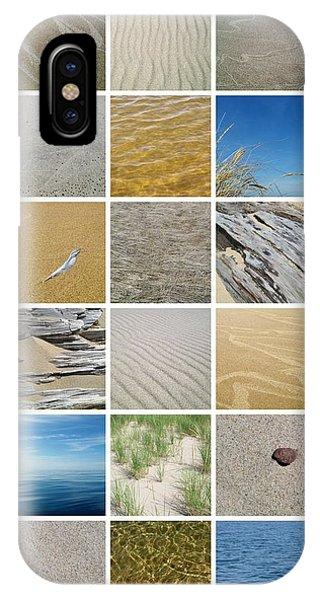 April Beach IPhone Case