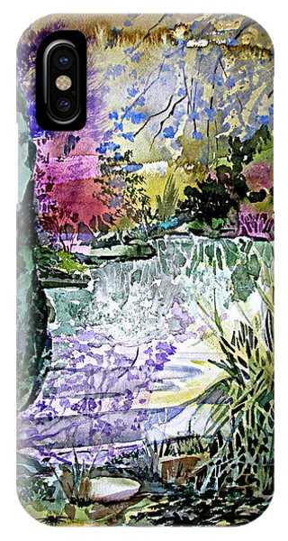 Lavender iPhone Case - April In England by Mindy Newman
