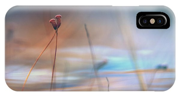Macro iPhone Case - April Love by Willy Marthinussen