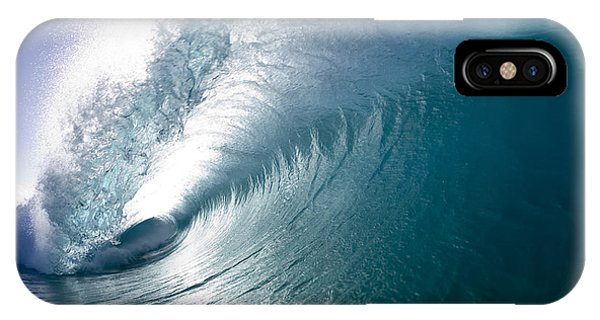 Aqua Curl IPhone Case