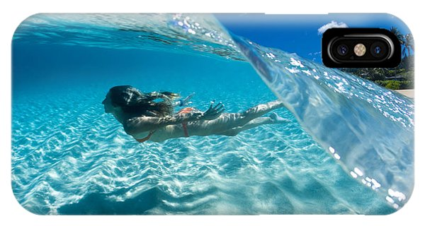 Aqua Dive IPhone Case