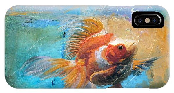 Aqua Gold IPhone Case