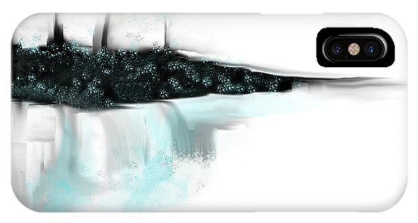 Aqua Landscape IPhone Case