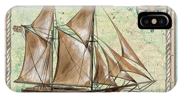Aqua iPhone Case - Aqua Maritime 2 by Debbie DeWitt