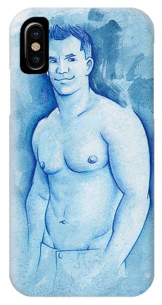 Aqua Phone Case by Rudy Nagel