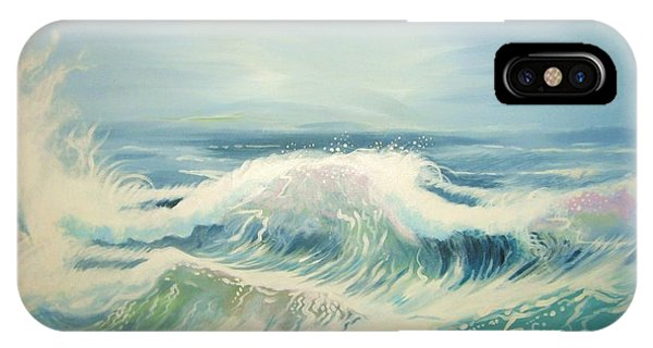 Aqua Sea Scape IPhone Case