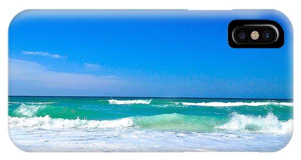 Aqua Surf IPhone Case