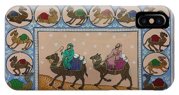 Arab Men In Desert IPhone Case