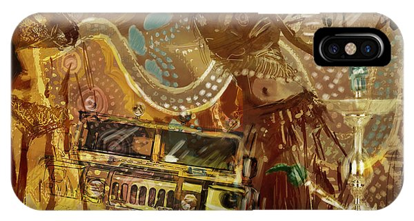 Corporate Art Task Force iPhone Case - Arabian Symbolism by Corporate Art Task Force