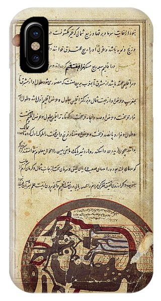 Arabic Map Of The World Phone Case by Spencer Collection/new York Public Library