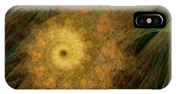 Arachne's Ammonite  IPhone Case
