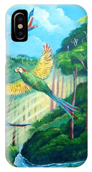 Aras On The Forest IPhone Case