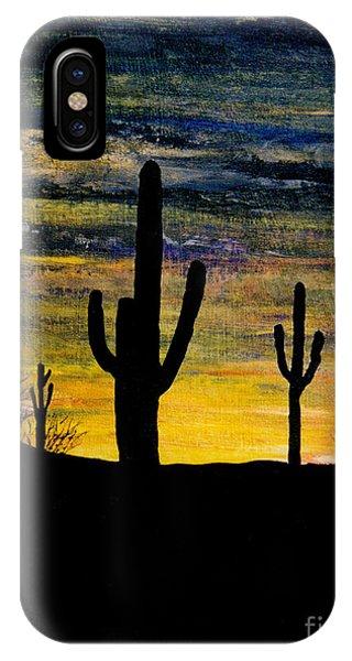 Arazona Sunset IPhone Case