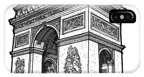 Arc De Triomphe IPhone Case