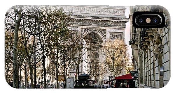 Arc De Triomphe Paris IPhone Case