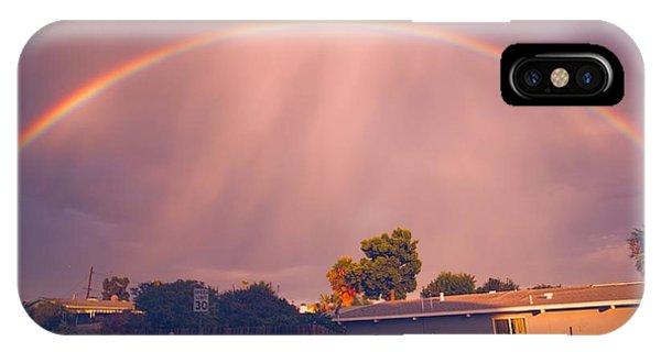Arc Of The Rainbow IPhone Case