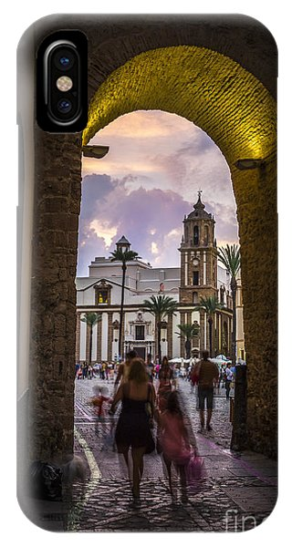 Arc Of The Rose Cadiz Spain IPhone Case