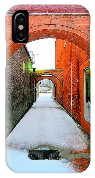 Arch And Corridor IPhone Case