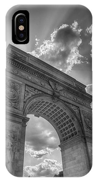 Arch At Washington Square IPhone Case