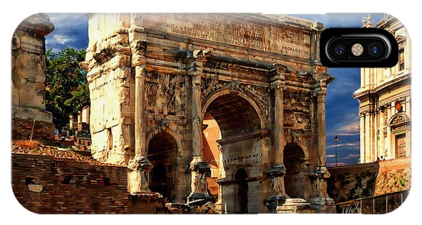 Arch Of Septimius Severus IPhone Case