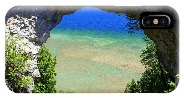 Arch Rock IPhone Case