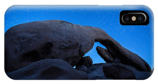 iPhone Case - Arch Rock Starry Night 2 by Stephen Stookey