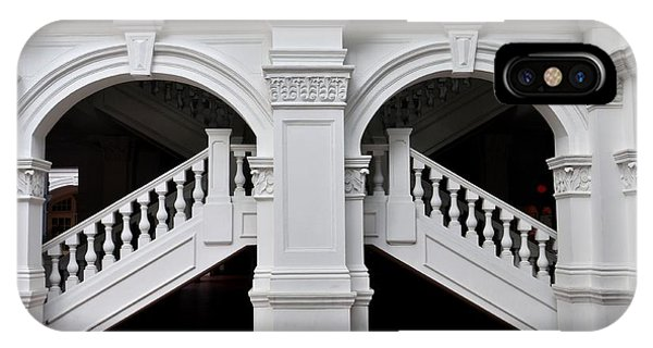 Arch Staircase Balustrade And Columns IPhone Case