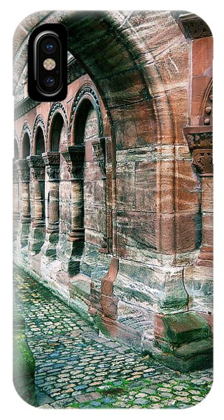 Arches And Cobblestone IPhone Case