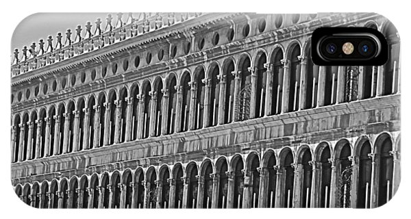 Arches And Columns In Piazza San Marco IPhone Case