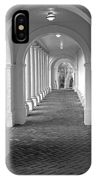 Arches At The Rotunda At University Of Va 2 IPhone Case