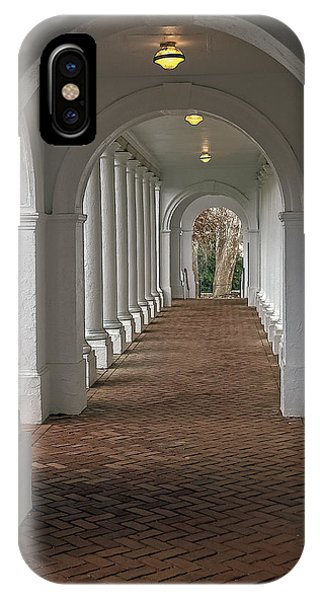 Arches At The Rotunda At University Of Va IPhone Case