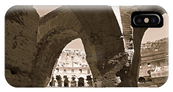 Arches In The Colosseum IPhone Case
