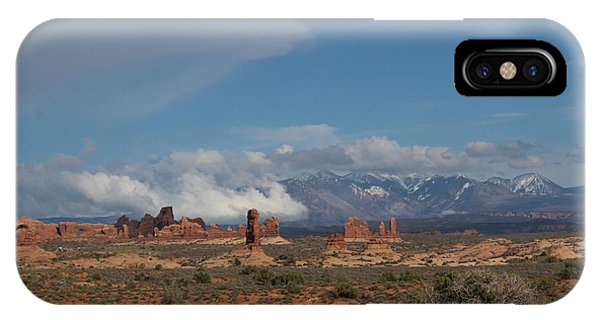 Arches National Monument Utah IPhone Case