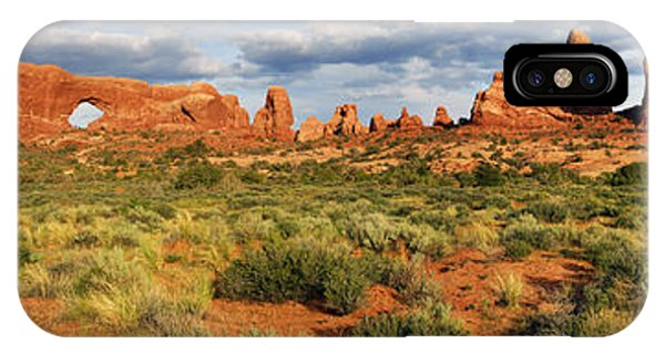 Arches National Park Panorama IPhone Case