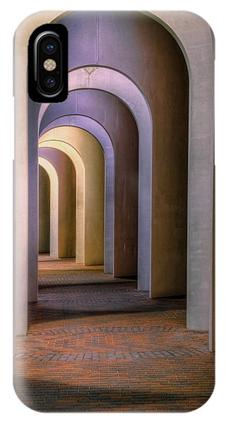 Arches Of The Ferguson Center IPhone Case