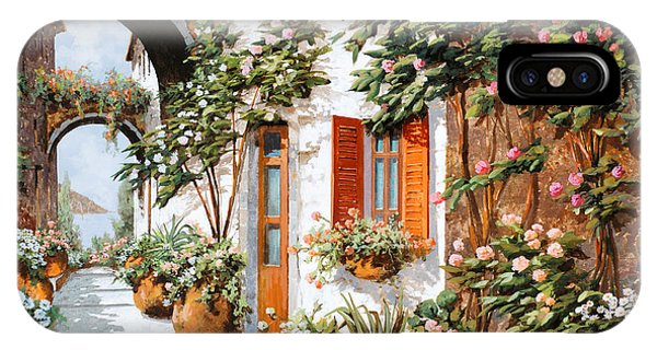 Arched iPhone Case - Archi E Orci by Guido Borelli