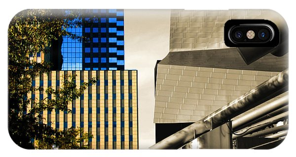 Architectural Crumpled Steel Gehry IPhone Case