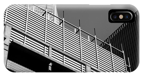 Architectural Lines Black White IPhone Case