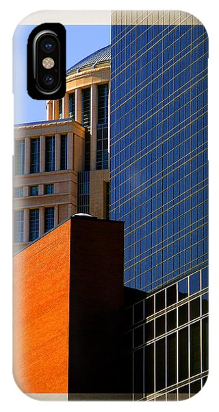 Architectural Stone Steel Glass IPhone Case